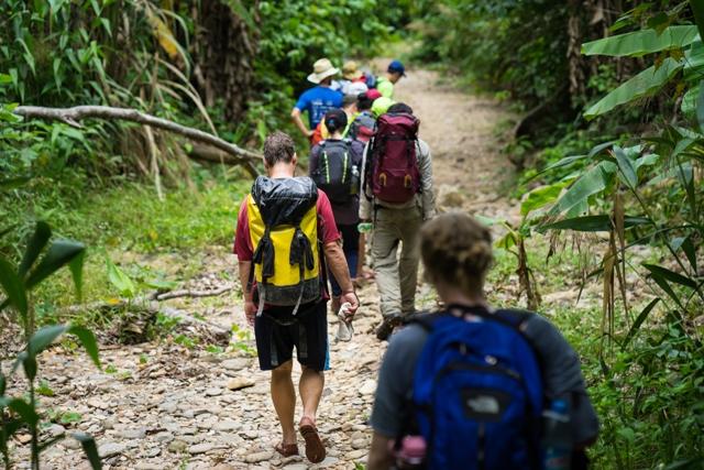 Grupo reducido de trekking