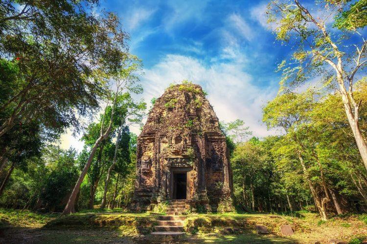 Sambor Prei Kuk - Organizar un viaje a Vietnam y Camboya