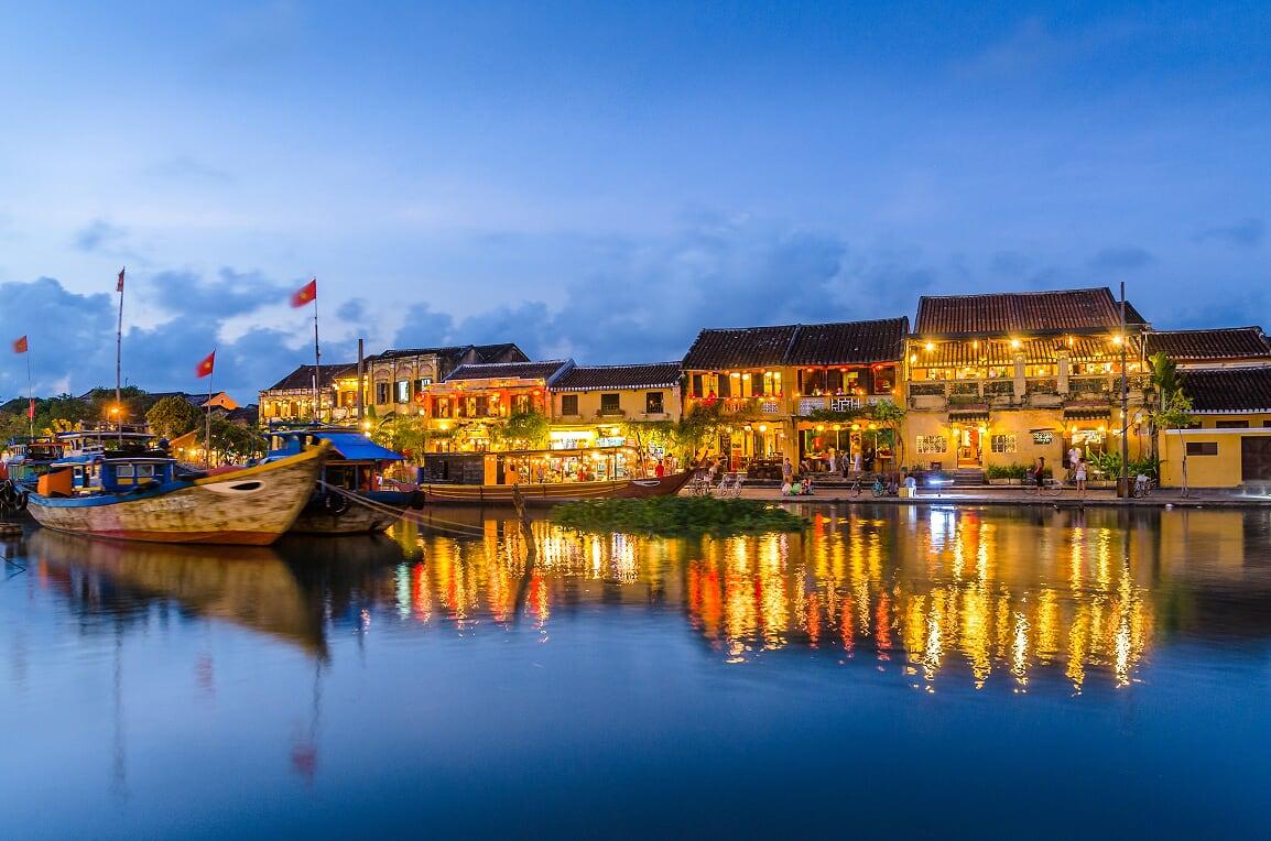 La ciudad antigua de Hoi An - organizar un viaje a vietnam y camboya