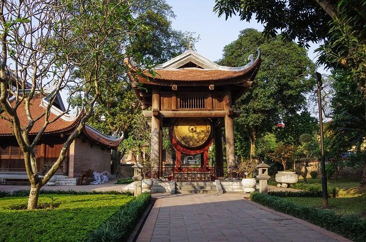 Templo de la Literatura - que en ver hanoi