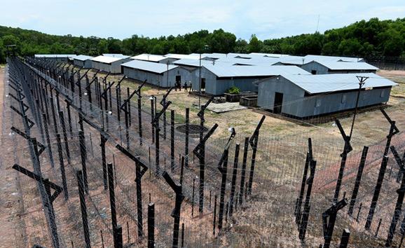 La prisión de Phu Quoc vietnam