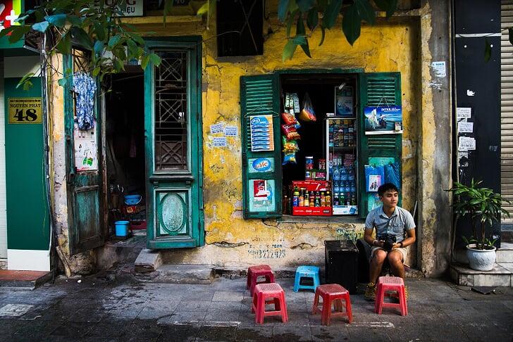 Barrio Antiguo - Viajar a Hanoi Vietnam
