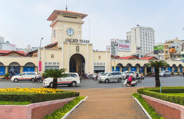 El mercado de Ben Thanh saigon vietnam