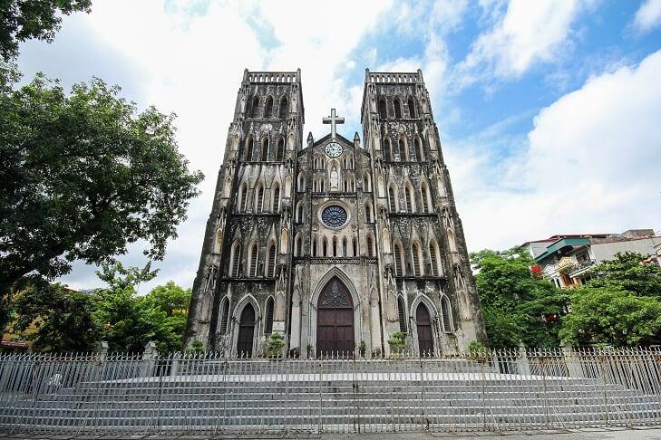 La catedral de San José - hanoi, vietnam