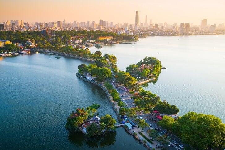 Lago Oeste - Viajar a Hanoi, Vietnam
