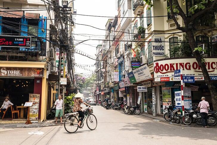 Barrio antiguo - que ver en hanoi
