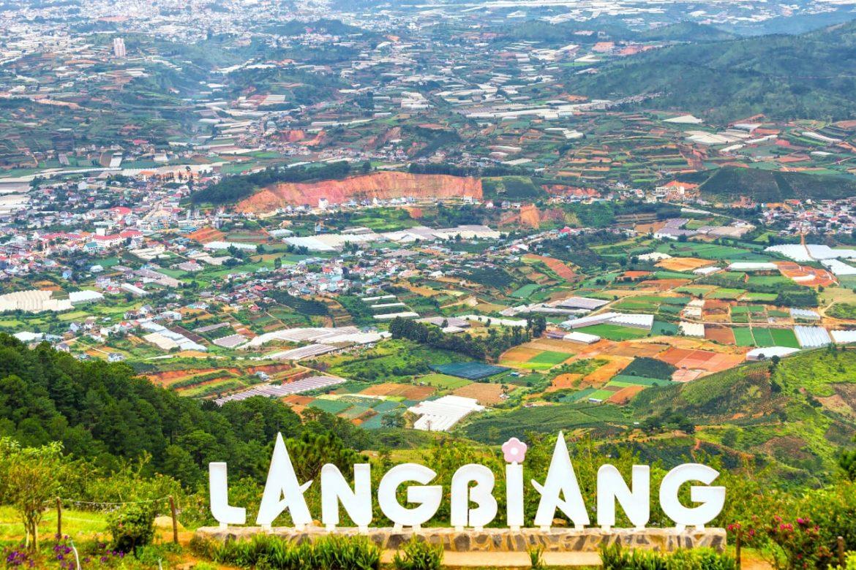 Colina LangBiang dalat vietnam