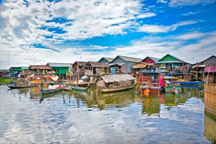 tonle sap - experiencia de luna de miel en Vietnam y Camboya