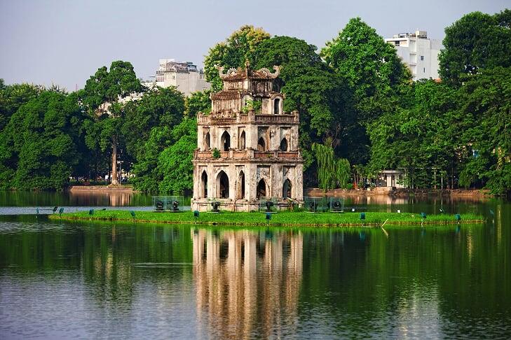Lago Hoan Kiem - hanoi vietnam