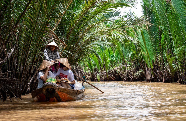Delta de Mekong - mejor epoca para viajar a vietnam