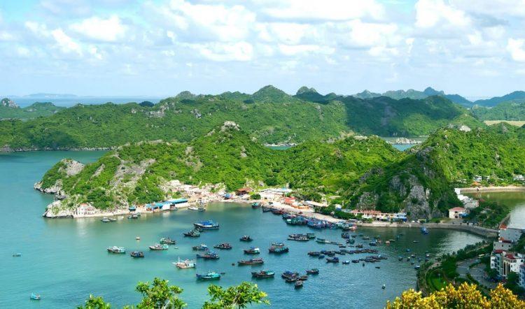 cat ba - senderismo en Vietnam y Camboya