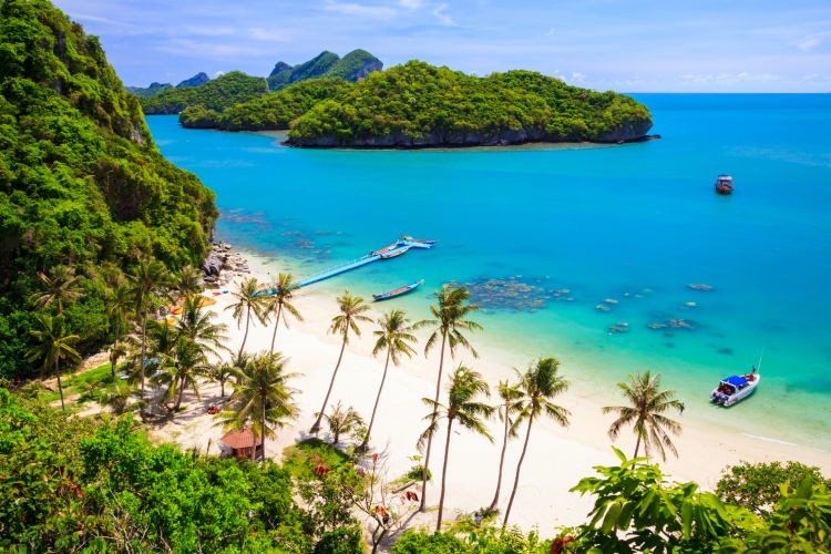 Top 10 las mejores playas de Tailandia