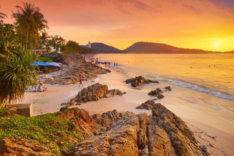 Top 10 las mejores playas de Tailandia - patong beach