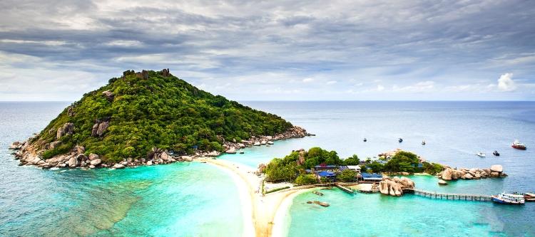 Top 10 las mejores playas de Tailandia - koh nang yuan