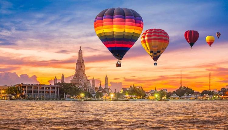 Las mejores experiencias de aventura en Tailandia - Globo